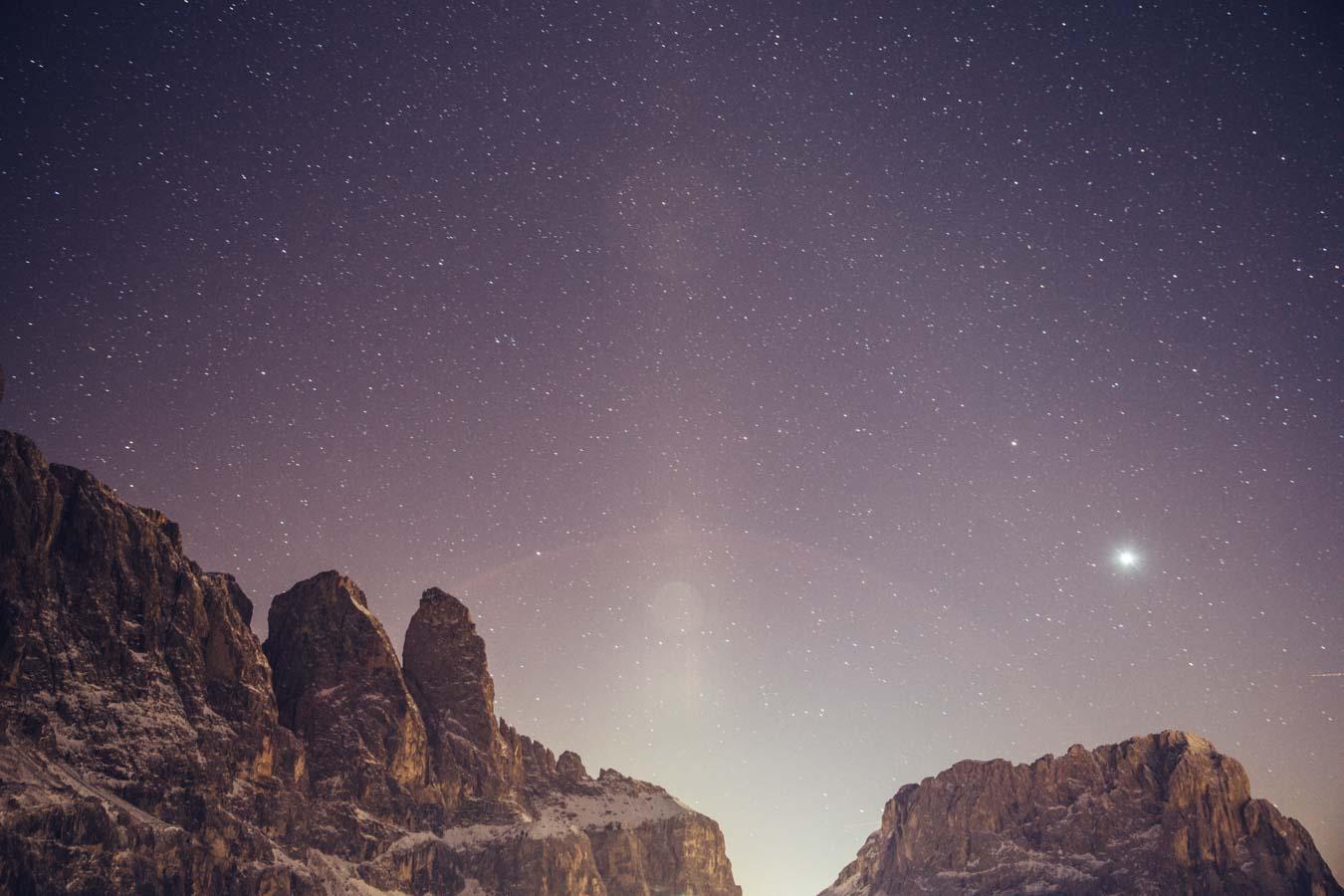 Sterne Dolomiten